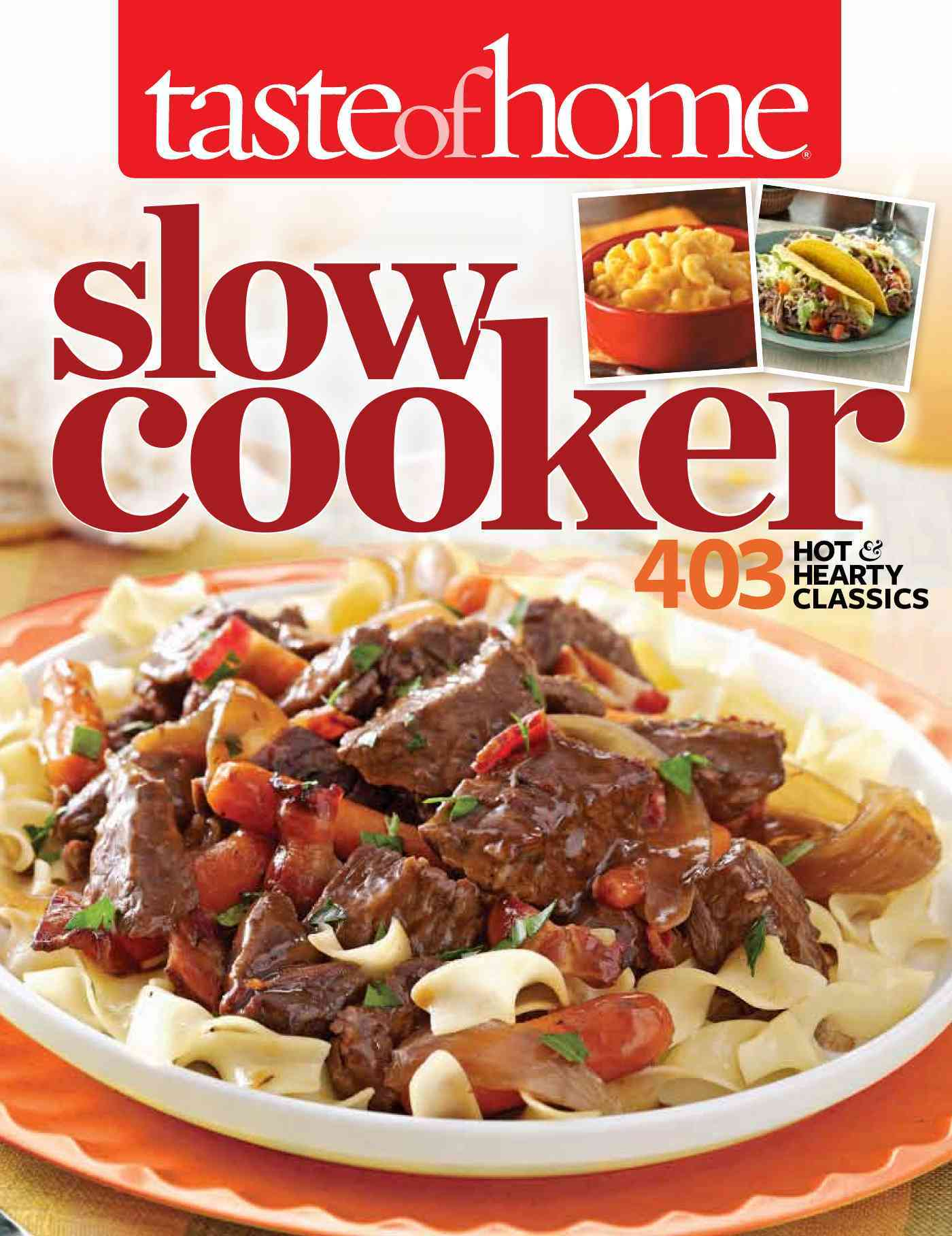Taste of Home Slow Cooker By Taste of Home (COR)